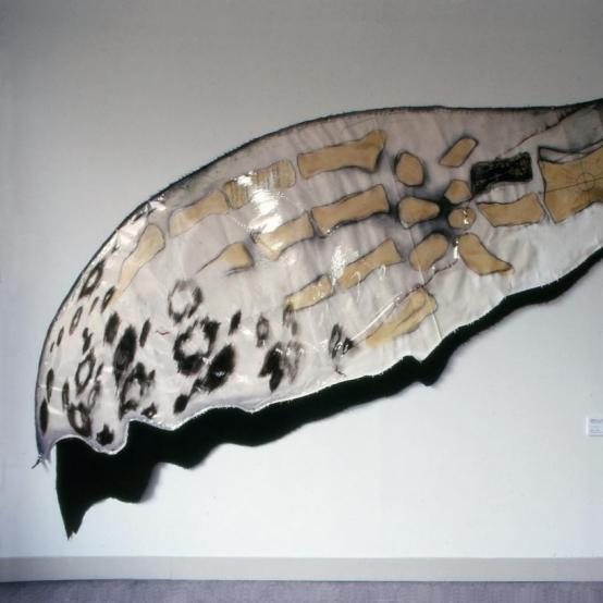 鯨駒その2(陸ニ上ガッタ翼)-Whale-landed-wings- (1985)